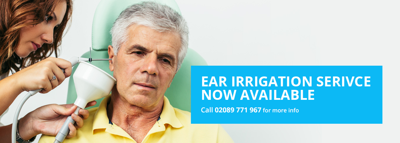 ear irrigation service
